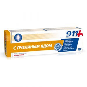 911 PČELINJI OTROV - gel balzam za zglobove
