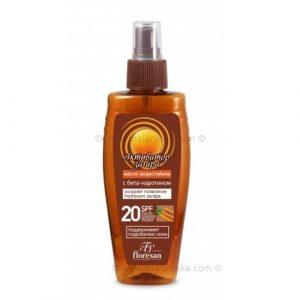 AKTIVNO POTAMNJIVANJE - vodootporno ulje za sunčanje SPF20
