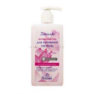 Delikatni gel za intimnu higijenu sa ekstraktom ružinih latica