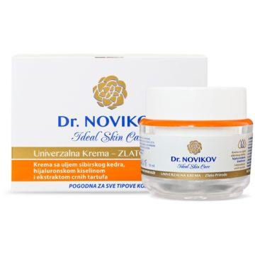 """Dr. NOVIKOV Ideal Skin Care UNIVERZALNA KREMA """"ZLATO PRIRODE"""""""
