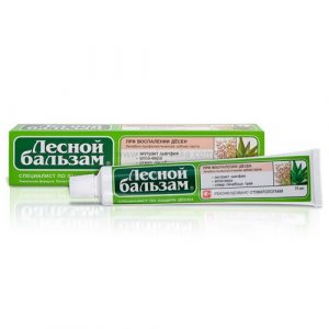 Medicinska pasta za zube - protiv upale desni (Šumski balzam)