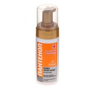 PANTENOL - pena posle sunčanja za negu i regeneraciju kože