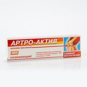 Ruski preparat ARTRO-AKTIV topli uljani balzam