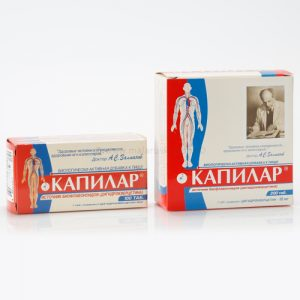 Ruski preparat KAPILAR - tablete