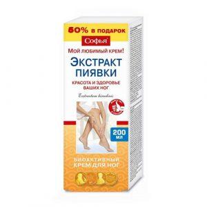 Ruski preparat SOFIJA Ekstrakt pijavice - krem za noge 200 ml u tubi